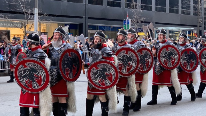 The boys from Shetland @Tartan Day Parade NYC