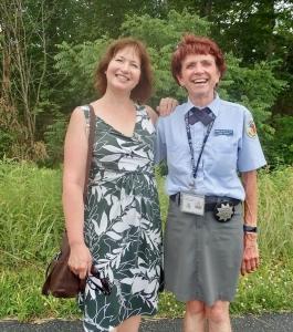 HVW + Licensed Battlefield Guide Susan @ Gettysburg National Military Park