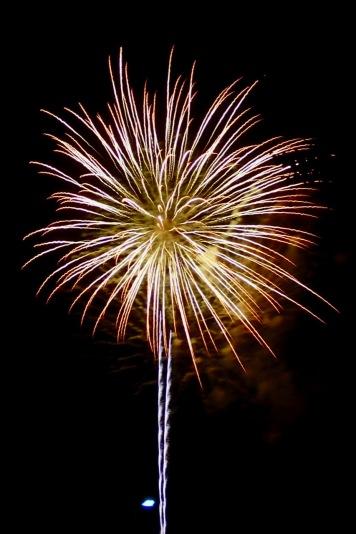 Independence Day fireworks @ Gettysburg