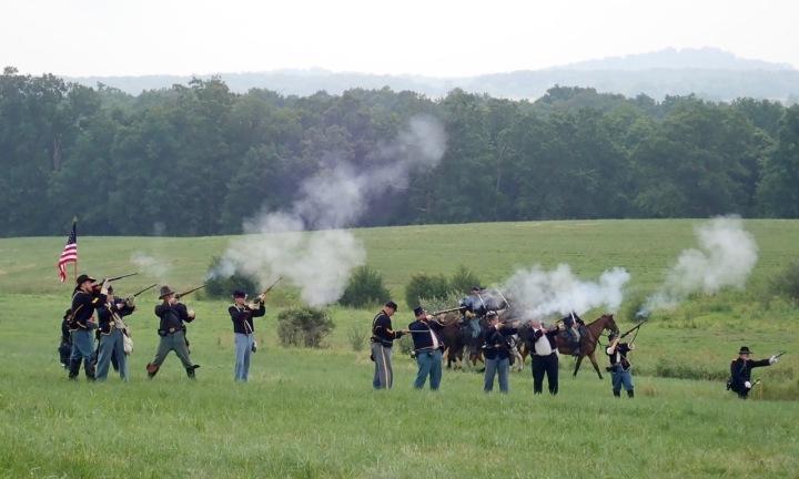 Just Back: Gettysburg