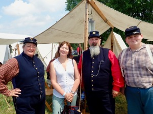 HVW and the Union Officers @ Gettysburg Re-enactment