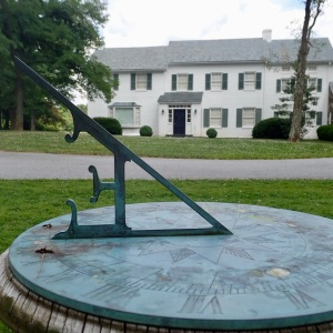 Presidential Sundial - Eisenhower Home @ Gettsyburg