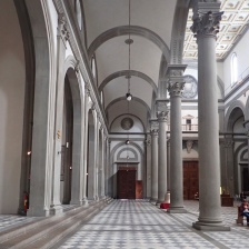 Basilica di Santa Croce - This looks like 1970's album art.
