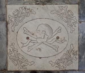 Basilica di Santa Croce - Pirate buried here.