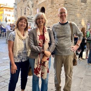 HVW + Tourguide Paula + SMB @ Galleria degli Uffizi