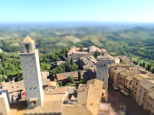 Tilt-shift @ San Gimignano