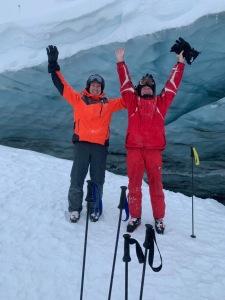 SMB + NLD @ Ice cave on Blackcomb Glacier