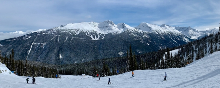 Blackcomb from Whistler