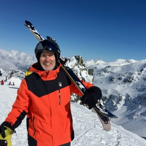 SMB hikes into Blackcomb Glacier on a bluebird day