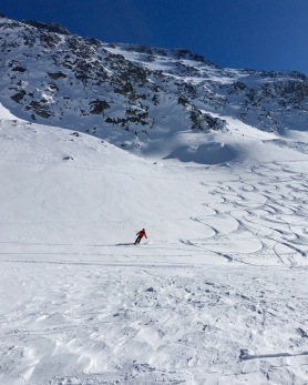SMB @ Blackcomb Glacier on a bluebird day