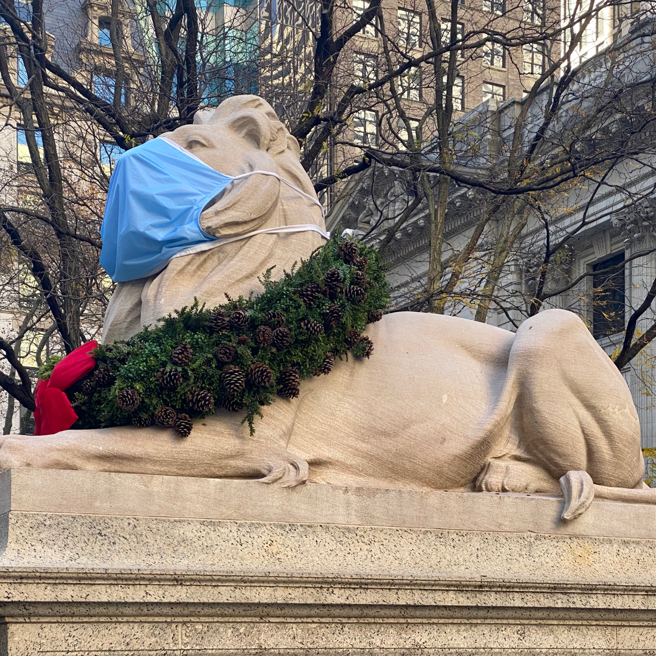 Patience is a lion @NYPL | NYC
