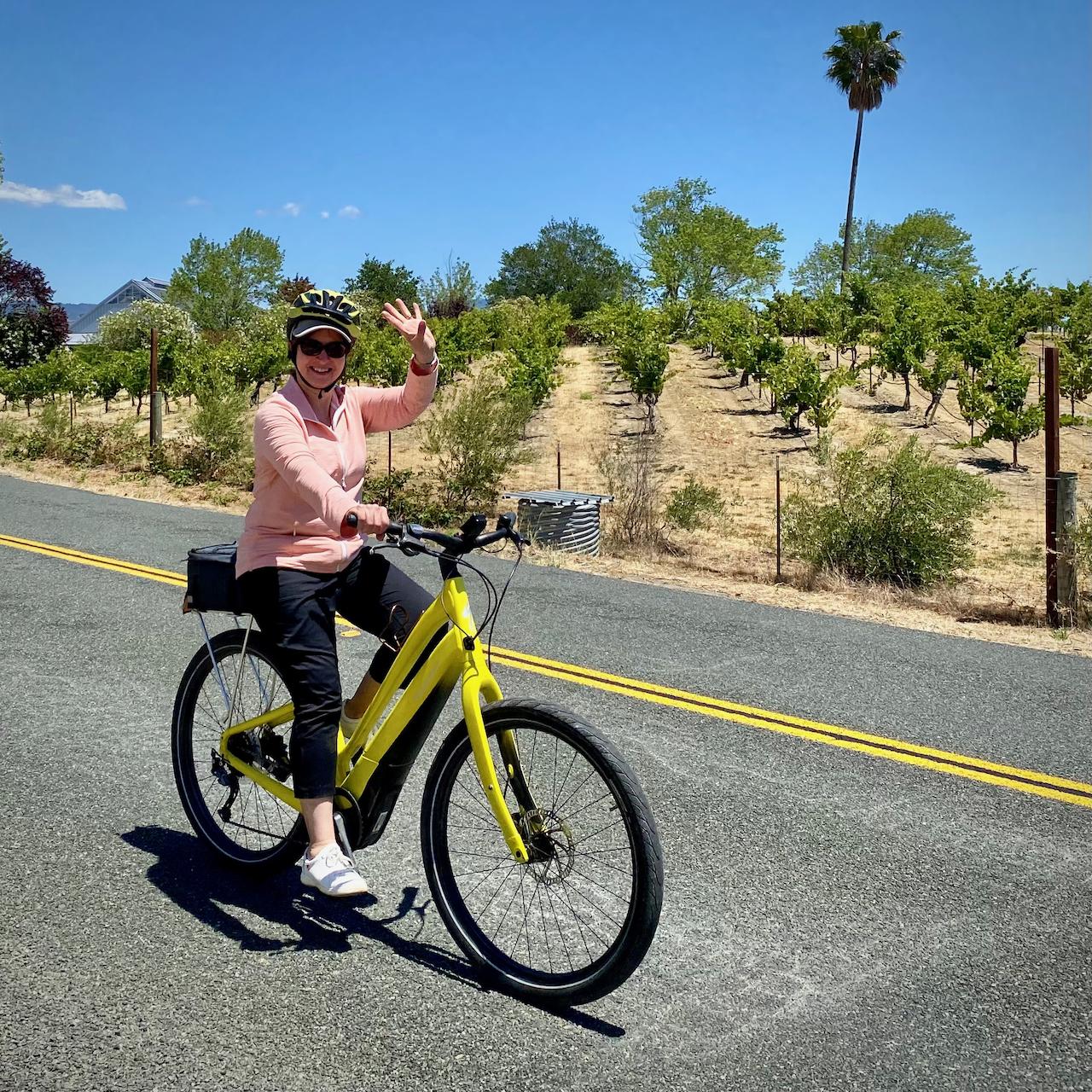 HVW e-biking @Dry Creek Valley