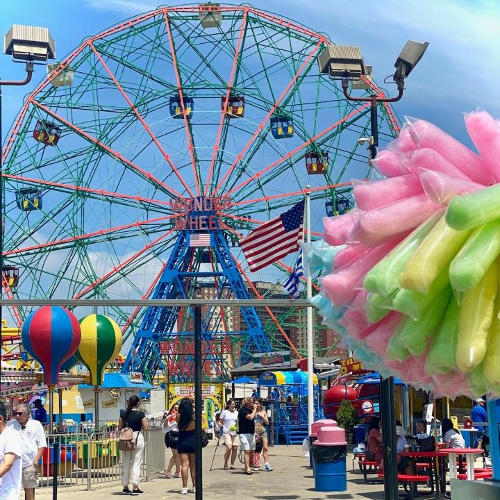 Wonder Wheel @Coney Island