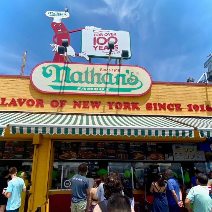 Nathan's @Coney Island