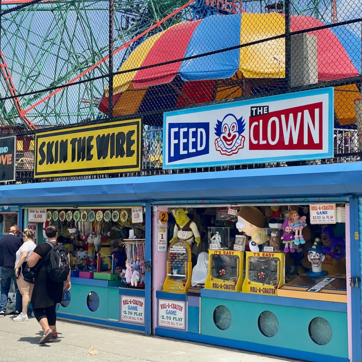 Skin the Wire / Feed the Clown @Coney Island